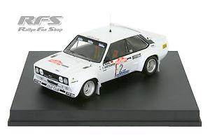 【送料無料】模型車 モデルカー スポーツカー フィアットアバルトラリーサンレモfiat 131 abarth rhrl geistdrfer rallye san remo 1980 143 trofeu 1413