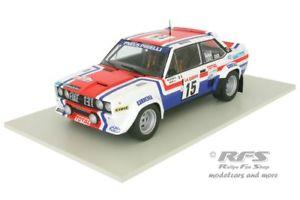 【送料無料】模型車 モデルカー スポーツカー フィアットアバルトラリーツールドコルスミシェルムートンfiat 131 abarth rallye tour de corse 1980 michele mouton 118 solido 1800807