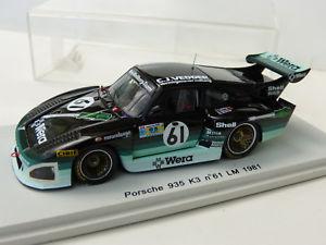 【送料無料】模型車 モデルカー スポーツカー ポルシェ#ルマンスパークルマンporsche 935 k3 61 24 heures du mans 1981 spark s2059 143e le mans