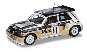 【送料無料】模型車 モデルカー スポーツカー ルノーマキシターボツールドコルスsolido 118 renault 5 maxiturbo 1986 tour de corse n 11