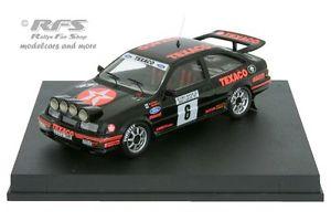 【送料無料】模型車 モデルカー スポーツカー フォードシエラコスワースフィンランドラリーford sierra rs cosworth rallye finnland 1987 blomqvist 143 trofeu 0102