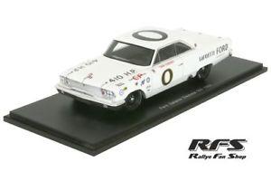 【送料無料】模型車 モデルカー スポーツカー フォードギャシーダンガーニーデイトナスパークford galaxy dan gurney daytona 500 1963 143 spark 3601