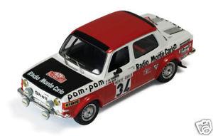 【送料無料】模型車 モデルカー スポーツカー ラリー#ネットワークモンテカルロsimca 1000 rally 34 fioentinogelin monte carlo 1973 ixo 143 rac115
