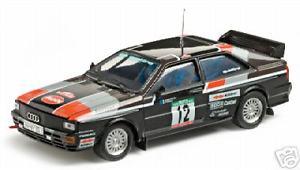 【送料無料】模型車 モデルカー スポーツカー アウディクワトロ#ムートンポンスラリーポルトガルaudi quattro 12 moutonpons rally portugal 1981 vitesse 143 42053