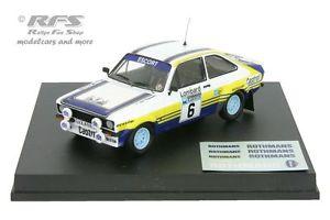 【送料無料】模型車 モデルカー スポーツカー フォードエスコートラリーアリバタネンford escort rs 1800 mk ii rac rallye 1979 ari vatanen 143 trofeu 1012