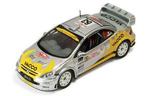 【送料無料】模型車 モデルカー スポーツカー プジョー#ホフマンモンテカルロネットワークpeugeot 307 wrc 63 burrihofmann monte carlo 2006 ixo 143 ram215