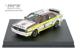 【送料無料 143】模型車 tour モデルカー スポーツカー アウディクワトロツールドコルスラリーaudi quattro quattro a2 yacco rallye tour de corse 1984 darniche 143 trofeu 1621m, 印鑑大統領:1b8c34ae --- sunward.msk.ru