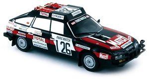 【送料無料】模型車 モデルカー スポーツカー #パリダカcitron cx 2400 gti 126 lucalessandrini parisdakar 1981 norev143 159010
