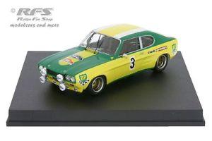 【送料無料】模型車 モデルカー スポーツカー フォードカプリラリーリヨンピオットバイアルford capri 2600 rs rallye lyon charbonnieres 1972 piot vial 143 trofeu 2318