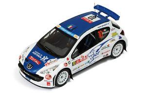 【送料無料】模型車 モデルカー スポーツカー プジョー#シューラリーポルトガルネットワークpeugeot 207 s2000 10 chiarcossi rally portugal 2008 ixo 143 ram331