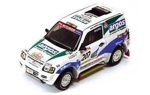 【送料無料】模型車 モデルカー スポーツカー パジェロ#ピカールパリダカmitsubishi pajero 207 picardfontenay parisdakar 2002 143 ram067