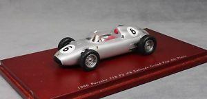 【送料無料】模型車 モデルカー スポーツカー スケールポルシェグランプリグラハムヒルtruescale porsche 718 solitude f2 grand prix 1960 graham hill tsm114310 143
