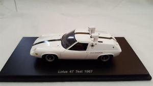 【送料無料】模型車 モデルカー スポーツカー ロータステストシャーシシュノーケルロータスコンポーネントスパークlotus 47 test chassis snorkel lotus components 1967 spark s1246 143