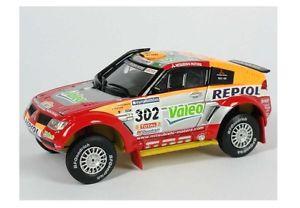 【送料無料】模型車 モデルカー スポーツカー パジェロ#ピカールダカールラリーmitsubishi pajero evo v 302 alphandpicard winner dakar 2006 143 800105