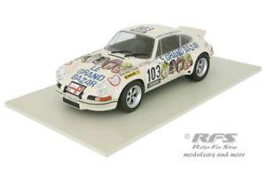 【送料無料】模型車 モデルカー スポーツカー ポルシェラリーツアードフランスルグランドバザールporsche 911 rsr rallye tour de france 1973 le grand bazar 118 solido 1801106