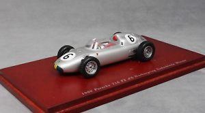 【送料無料】模型車 モデルカー スポーツカー スケールポルシェニュルブルクリンクチョtruescale porsche 718 f2 nurburgring winner 1960 jo bonnier tsm114308 143