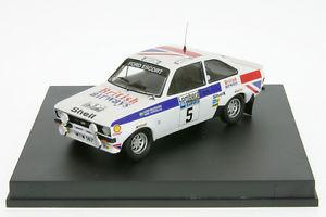 【送料無料】模型車 モデルカー スポーツカー フォードエスコートラリー143 tr1011 ford escort rs mk ii waldegaard rallye rac