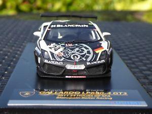 【送料無料】模型車 モデルカー スポーツカー ランボルギーニガヤルドブランパングアテマラ#スパモデルlamborghini gallardo lp6004 gt3 24 blancpain 24h spa 2011 fujimi 143 model