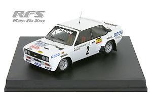 【送料無料】模型車 モデルカー スポーツカー フィアットアバルトモンテカルロラリーfiat 131 abarth andruet biche rallye monte carlo 1977 143 trofeu 1404