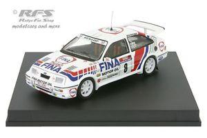 【送料無料】模型車 モデルカー スポーツカー フォードシエラコスワースフィナツールドコルスford sierra rs cosworth fina tour de corse 1990 duez 143 trofeu 0125