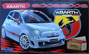 【送料無料】模型車 モデルカー スポーツカー アバルトスカラタラfujimi 500 abarth esseesse rs82 scala 124 cod12383