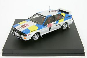 【送料無料】模型車 モデルカー スポーツカー アウディクワトロラリーサンレモ143 audi quattro blomqvist rallye san remo 1982 trofeu 1606