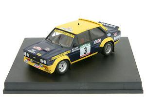 【送料無料】模型車 モデルカー スポーツカー フィアットポルトガルアバルトラリー143 fiat 131 abarth alen rallye portugal 1977 trofeu 1403