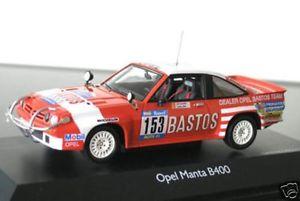 【送料無料】模型車 モデルカー スポーツカー オペルマンタパリダカールラリー#opel manta b 400 rallye raid paris dakar 153 colsoul bastos schuco rar 143