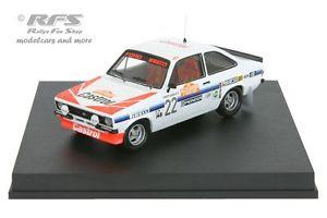 【送料無料】模型車 モデルカー スポーツカー フォードエスコートラリーサンレモford escort rs 2000 mk ii rallye san remo 1980 presotto 143 trofeu 1026