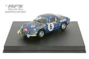 【送料無料】模型車 モデルカー スポーツカー ルノーアルパインモンテカルロラリーalpine renault a110 1600 rallye monte carlo 1972 andruet 143 trofeu 0807y