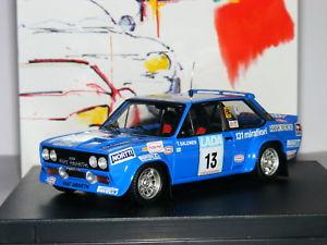 【送料無料】模型車 モデルカー スポーツカー フィアットアバルトティモラリー#trofeu 1420 fiat 131 abarth timo salonen 1977 1000 lakes rally 13 143