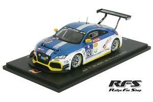 【送料無料】模型車 モデルカー スポーツカー アウディエンジニアリングニュルブルクリンクスパークaudi tt rs lms engineering 24h nrburgring 2014 143 spark sg 140