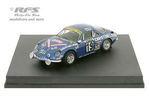 【送料無料】模型車 モデルカー スポーツカー ルノーアルパインモンテカルロラリーalpine renault a110 1800 rallye monte carlo 1976 mouton 143 trofeu 0816
