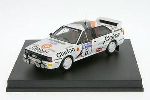 【送料無料】模型車 モデルカー スポーツカー アウディクワトロラリーラリー143 audi quattro eklund rac rallye 1985 143 rallye tr 1617