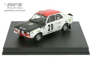 【送料無料】模型車 モデルカー スポーツカー フォードエスコートモンテカルロラリーピオットトッドford escort 1600 tc rallye monte carlo 1969 piot todt 143 trofeu 0516