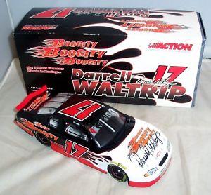 【送料無料】模型車 モデルカー スポーツカー アクション#モンテカルロサイン124 action 2003 17 boogity 2002 monte carlo darrell waltrip autographed mib