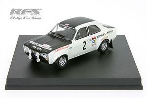 【送料無料】模型車 モデルカー スポーツカー フォードエスコートクラークマンラリー143 ford escort rs 1600 mki clark liddon manx rallye 1971 trofeu 0547