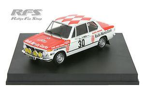 【送料無料】模型車 モデルカー スポーツカー アックイテルメモンテカルロラリーbmw 2002 ti dorche geertosio rallye monte carlo 1975 143 trofeu 1712