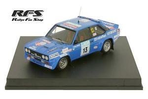 【送料無料】模型車 モデルカー スポーツカー フィアットアバルトラリーフィンランドfiat 131 abarth salonen 1000 seen rallye finnland 1977 143 trofeu 1420