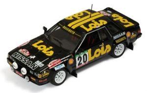 【送料無料】模型車 モデルカー スポーツカー ァールピーラリーポルトガルメンデスneues angebot143 nissan 240 rs lois rally portugal 1985 smendes