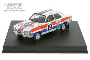 【送料無料】模型車 モデルカー スポーツカー フォードエスコートモンテカルロラリーford escort rs 1600 mk i rallye monte carlo 1972 mkinen 143 trofeu 0548