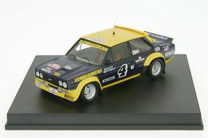 【送料無料】模型車 モデルカー スポーツカー フィアットアバルトモンテカルロラリーラリー143 trofeu fiat 131 abarth alen rallye monte carlo 1977 143 rallye tr 1421