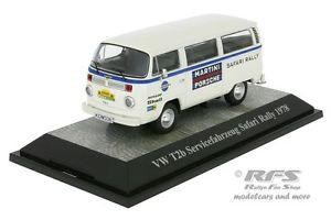 【送料無料】模型車 モデルカー スポーツカー フォルクスワーゲンフォルクスワーゲンサービスマルティニポルシェサファリラリーvolkswagen vw t2b servicefahrzeug martini porsche safari rallye 1978 143
