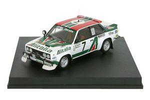 【送料無料】模型車 143 1979 モデルカー スポーツカー 131 フィアットアバルトアリタリアムナーリサファリラリーfiat 131 abarth alitalia munari maiga safari rallye 1979 143 trofeu, 里美村:f16dd05e --- sunward.msk.ru
