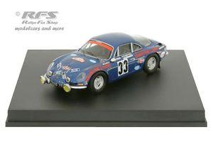 【送料無料】模型車 モデルカー スポーツカー ルノーアルパインヘンリーモンテカルロラリーalpine renault a110 1600 rallye monte carlo 1973 henry 143 trofeu 0823