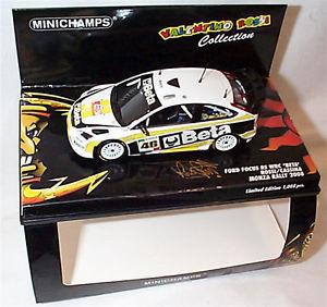 【送料無料】模型車 モデルカー スポーツカー フォードフォーカスラリーバレンティーノロッシモンツァford focus rs wrc valentino rossi monza rally 2008 ltd ed mib 400088946