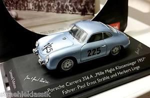 【送料無料】模型車 モデルカー スポーツカー ポルシェカレララリーミッレミリア#シグネチャporsche carrera 356a rallye mille miglia winner strhlelinge 225 mit signatur
