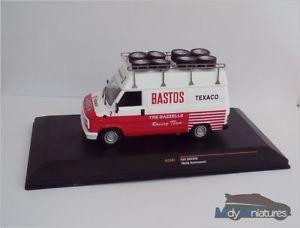 【送料無料】模型車 モデルカー スポーツカー ネットワークフィアットラリーチームixo fiat ducato assistance rallye team bastos
