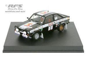 【送料無料】模型車 モデルカー スポーツカー フォードエスコートスコットランドバタネンラリーford escort rs 1800 mk ii rallye schottland 1982 vatanen 143 trofeu 1027