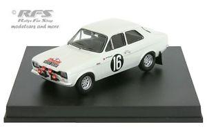 【送料無料】模型車 モデルカー スポーツカー フォードエスコートラリーサンレモアンダーソンford escort 1600 tc rallye san remo 1968 andersson 143 trofeu 0504
